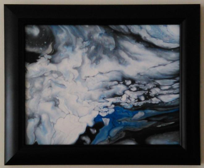 11x14 on glass framed #149 1-14-2020