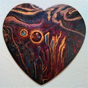 #133 10 inch wood heart 2019 (2)