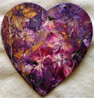 8 inch wood heart #138 June 2019 for Poppy BD (2)